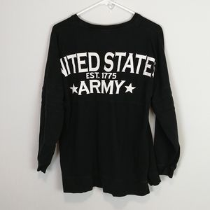 Army Performance Long Sleeved Graphic Tee Size S